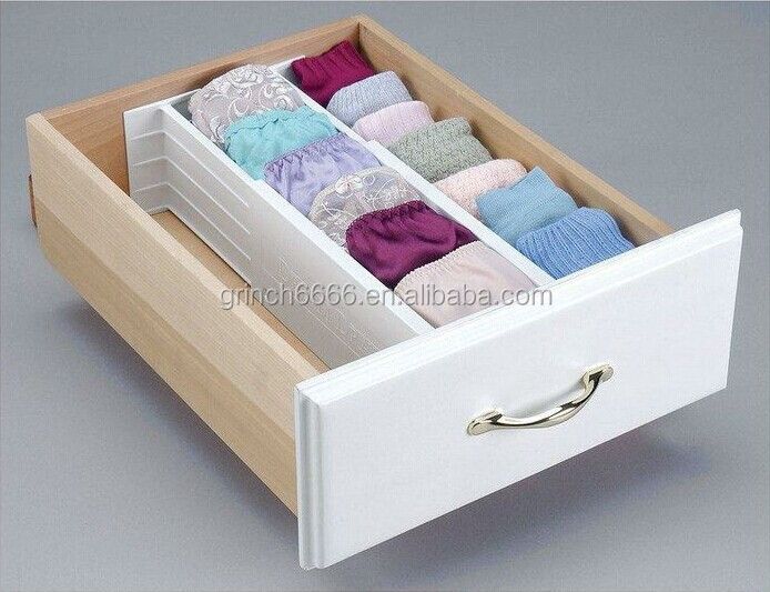 Adjustable Drawer Organizer,drawer Dividers,Plastic Drawer Dividers