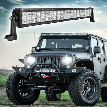 High power auto parts led driving light bar offroad 215inch 120w 2 high power auto parts led driving light bar offroad 215inch 120w 2 row led light aloadofball Images