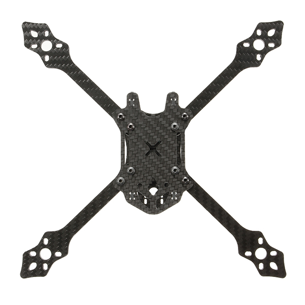 Blackbird 205 210mm 4mm Arm Thickness Carbon Fiber FPV Racing Frame with PDB Board 90g for RC Drone