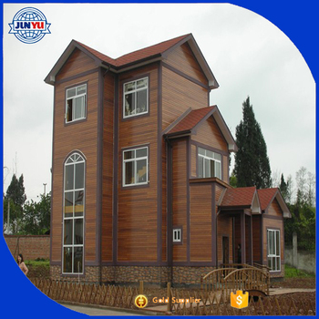 Prefabricated Log House / Prefab House Price Made In China