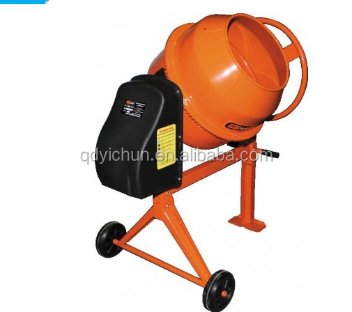 plastic drum concrete mixer