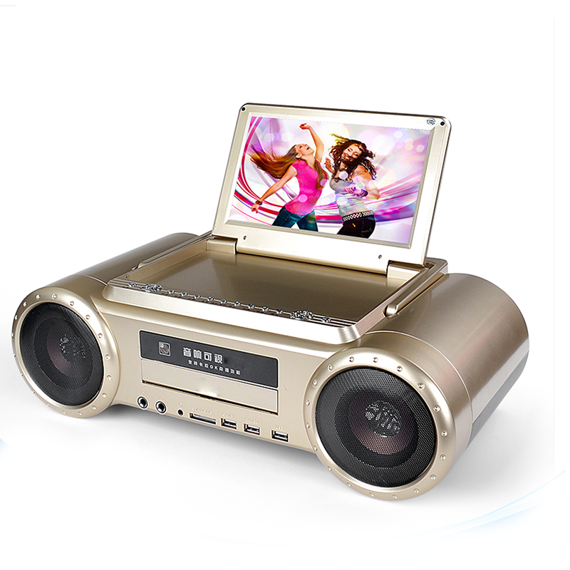 Konsta LED 9 ''สี Karaoke Player Home Dvd Player