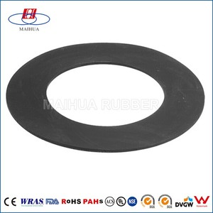 Factory custom EPDM,SILICONE,VITON high heat resistant rubber washer