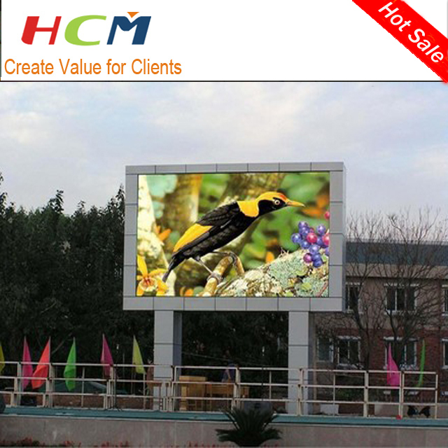 High refresh rate MBI 5024, 5124 P8 LED Display Outdoor SMD