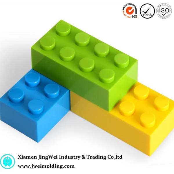 Blocks toy for children, plastic toy mould, plastic injection moulding for toy