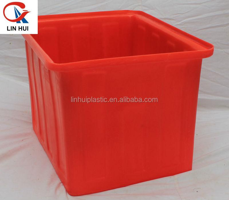 Lldpe 300l large square plastic fish tank buy plastic for Plastic fish bowls bulk