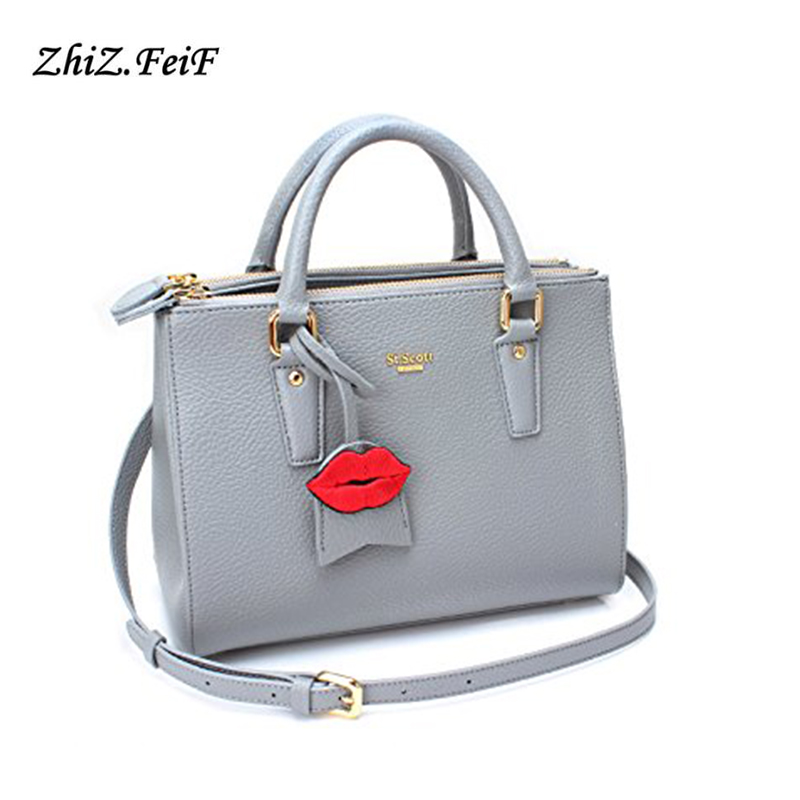The Most Popular Fashion Color Customized Printed Logo PU Leather Handbags
