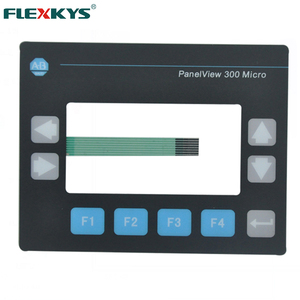 Flexkys metal dome adhesive pad keys membrane switch keypad keyboard