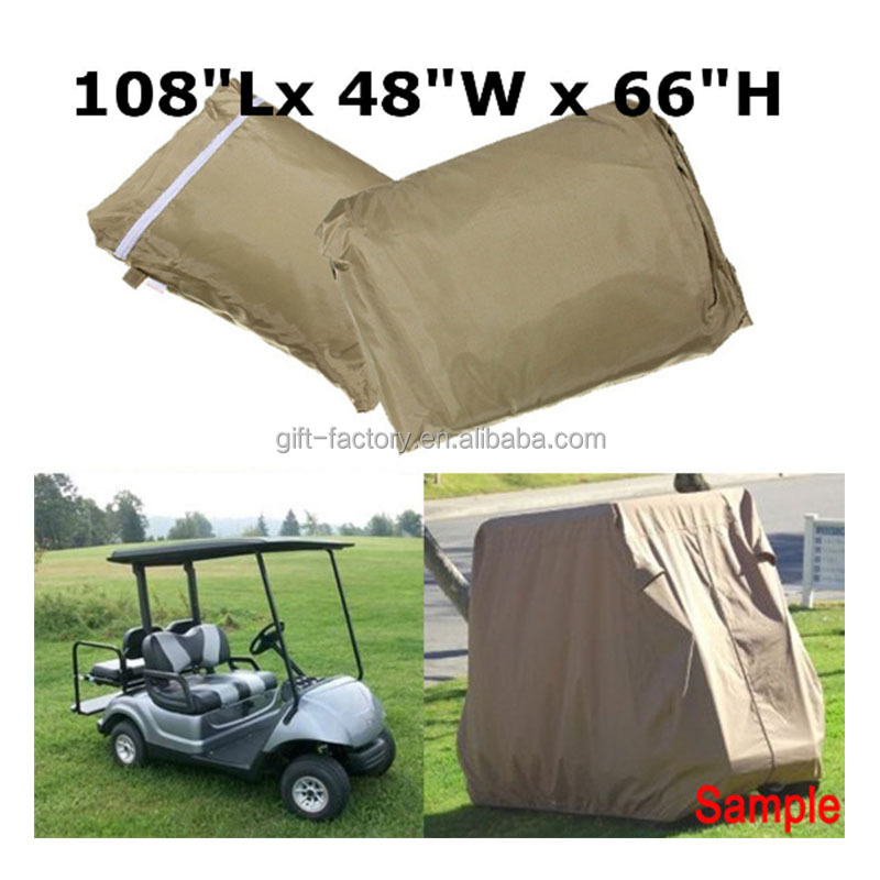 ATV Cover,Hood for Golf Cart,High quality waterproof Oxford golf cart rain cover