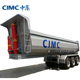 CIMC Transporting Bulk Cargo 3 Axle Dump Truck Tipper Semi Trailer in Afraic
