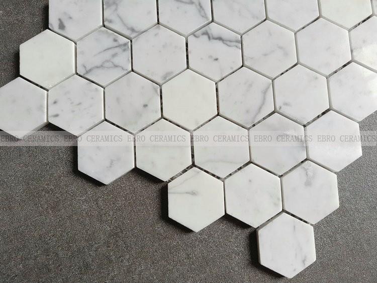 Hexagon Balkon Boden Marmor Mosaik Fliesen Buy Balkon Boden - Mosaik fliesen für balkon