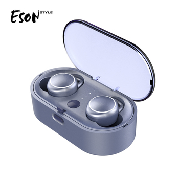 Eson Style shenzhen factory OEM ODM TWS Wireless earbuds mini Bluetooth 5.0 home theatre system wireless earphones