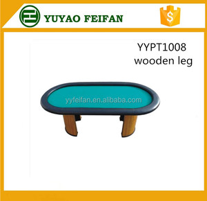 93'' OVAL Luxury Poker Table in gambling
