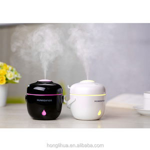 2018 new design home small rice cooker portable atomization cute modeling mini usb air humidifier
