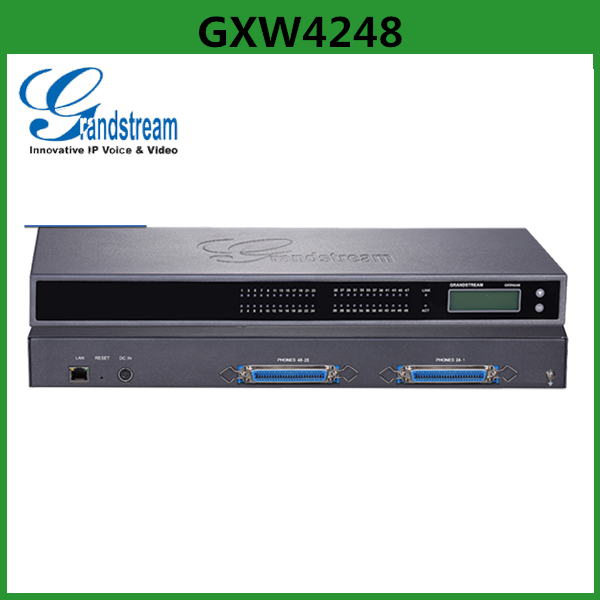 IP Gateway Grandstream 48 FXS Port Voip Gateway GXW4248 For IPPBX System