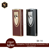 wholesale metal refillable two torches cigar lighter