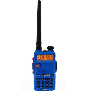 128 Storage Channels UHF VHF ham radio 3-50KM Talk Range dual band interphone Baofeng two way radio UV5R