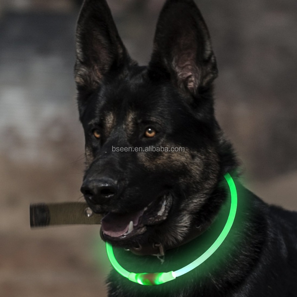 Best selling Light up night safety collar for most <strong>dogs</strong> or events