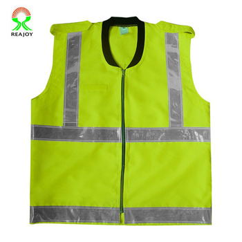 Factory Custom Malaysia Hi Vis Reflective Safety Vest