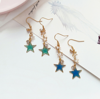 Whole Fashion Jewelry 2018 Statement Earrings Long Made In China For Women Color Change