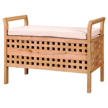 Lidl Solid Wood Bathroom Storage Bench