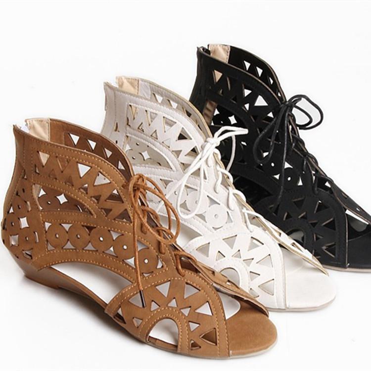 Latest Ladies Sandals Designs Flat