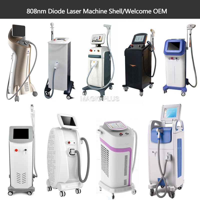 MagicPlus OEM Portable 808nm Diode Laser Hair Removal Machine