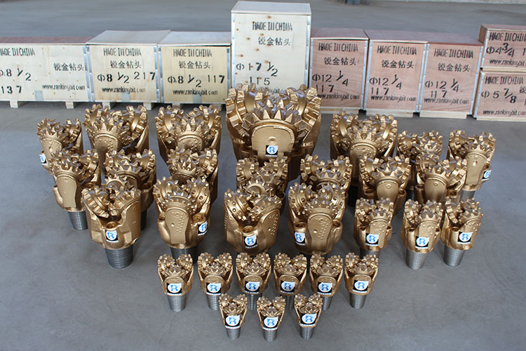100% new 12 1/4''tricone three cone tci tricone roller drill bit for water well drilling