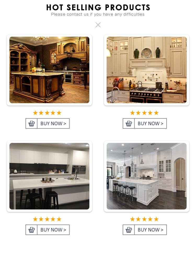 ผู้ผลิตมืออาชีพครัวยุโรปตู้ไม้หรูหราห้องครัว
