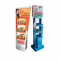 Leader Display product unit table stand design top cosmetic store counter display