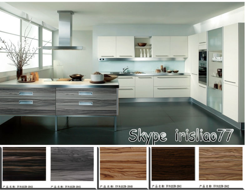 Modern Uv Mdf Kitchen Cabinet Cupboard Door Designs