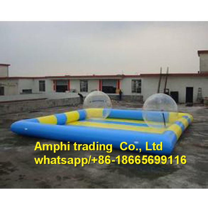 PVC Inflatable Swimming Pools with balls