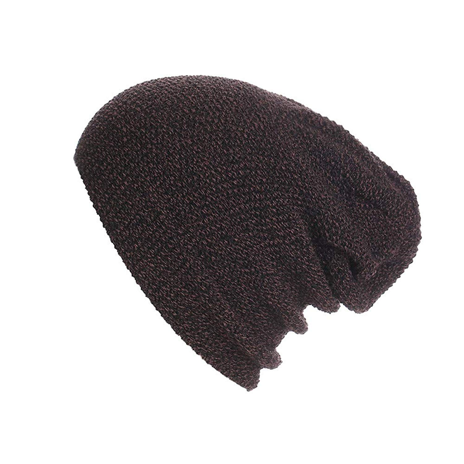 yijiamaoyiyouxia-Hats, Unisex Men's Women's Knit Wool Baggy Cap Winter Warm Hat