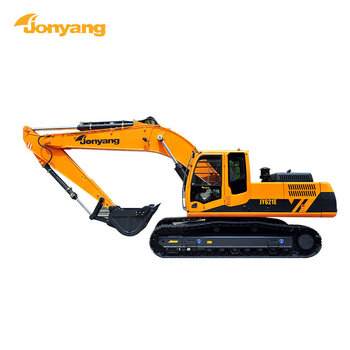 Construction machine heavy equipment JY621E rc hydraulic crawler excavator for sale