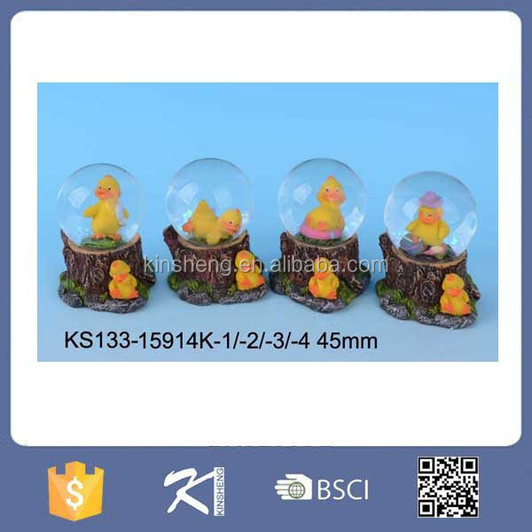 Resin promotional crystal snow globe water ball for sale