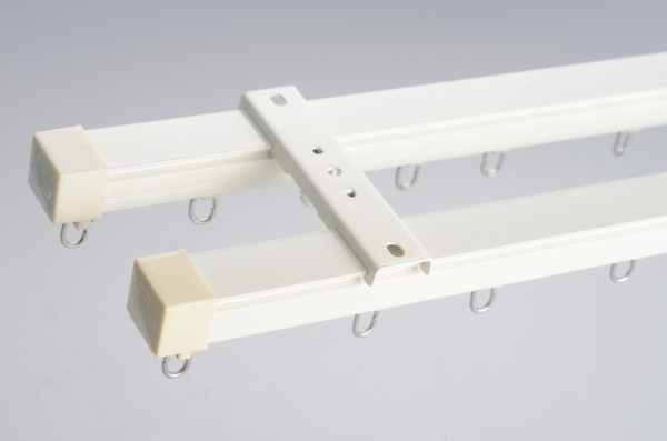 Double Or Single Ceiling Mount Or Side Curtain Bracket Metal ...