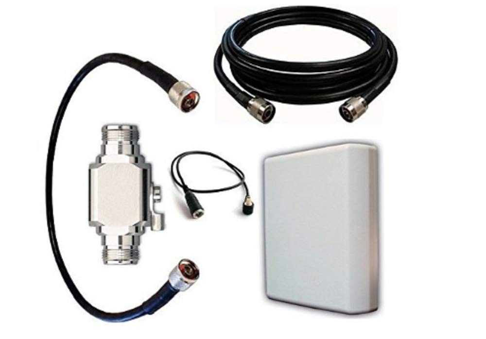 High Power Antenna Kit for at&T Wireless Home Phone (WF720) with Panel Antenna and 50 ft Cable