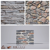 Faux stone for wall/garden decoration