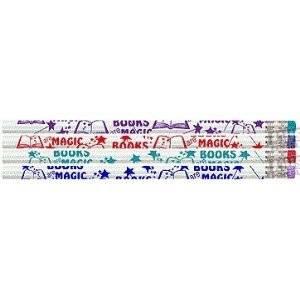 D1402 Books Are Magic - 144 Reading Pencils