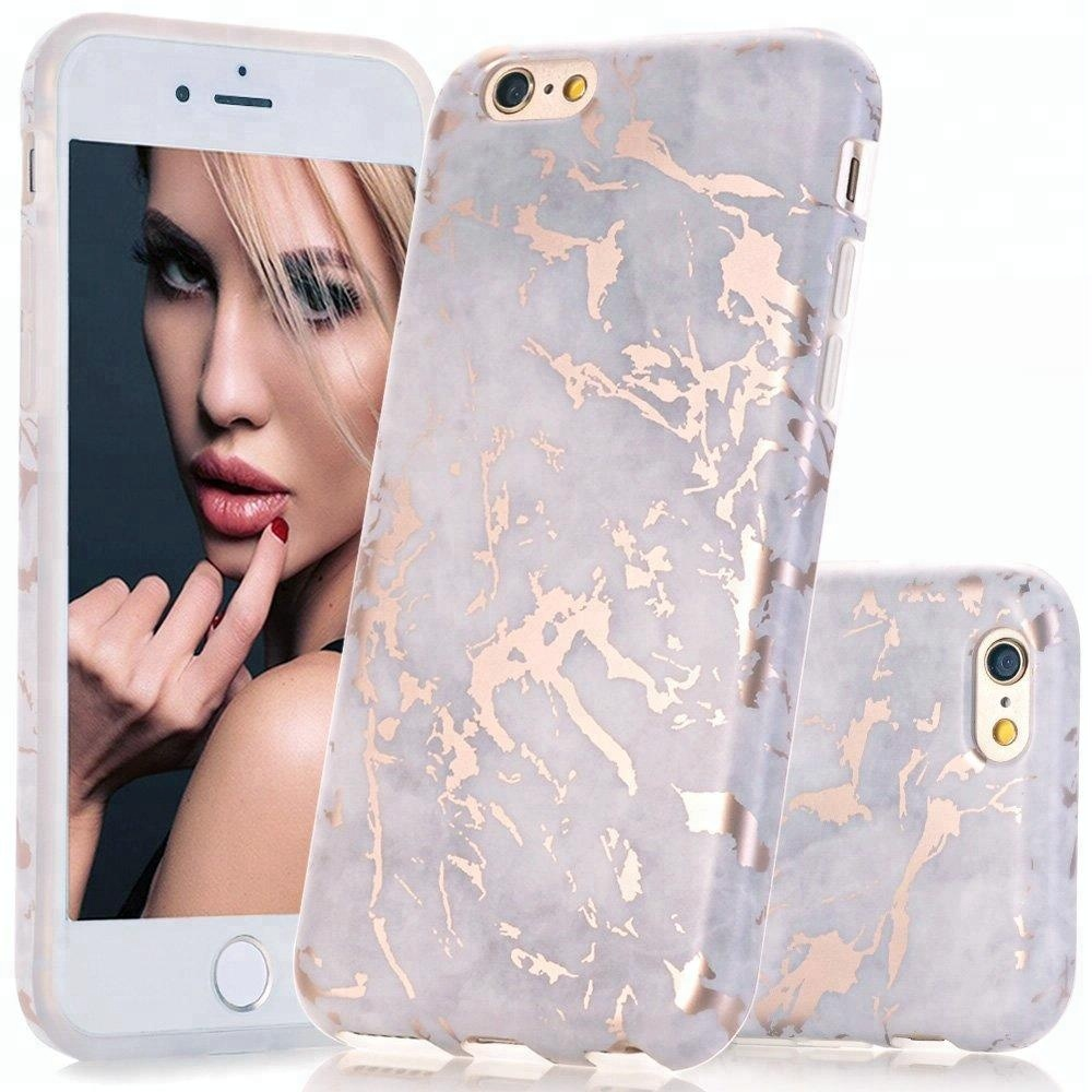 Luxury marble phone case cover tpu phone accessories soft IMD case for iPhone 6