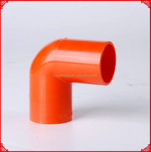 Plastic Electrical PVC Pipe Fittings Rigid Conduit Elbow