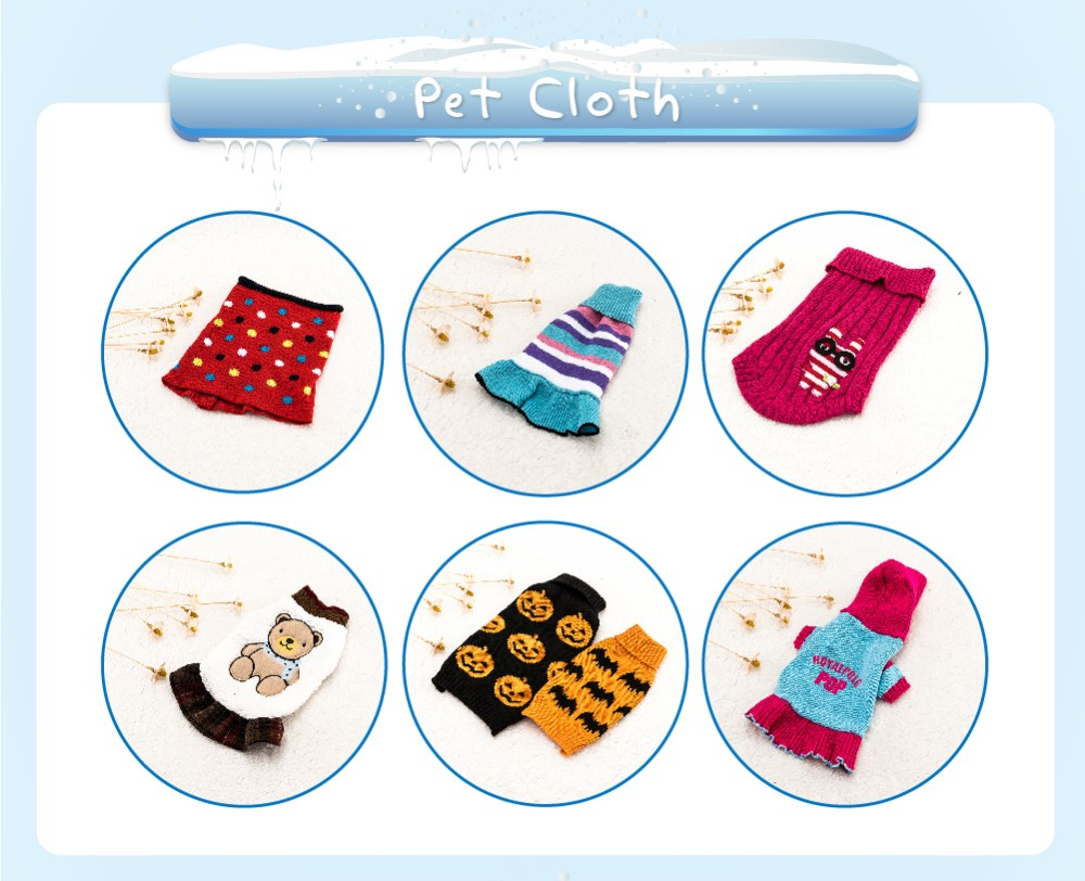Factory Direct Wholesale pet apparel design dog sweaters