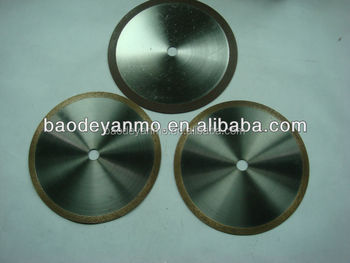 made in china diamond tools diamond cutting wheel for silicon carbide CERAMIC