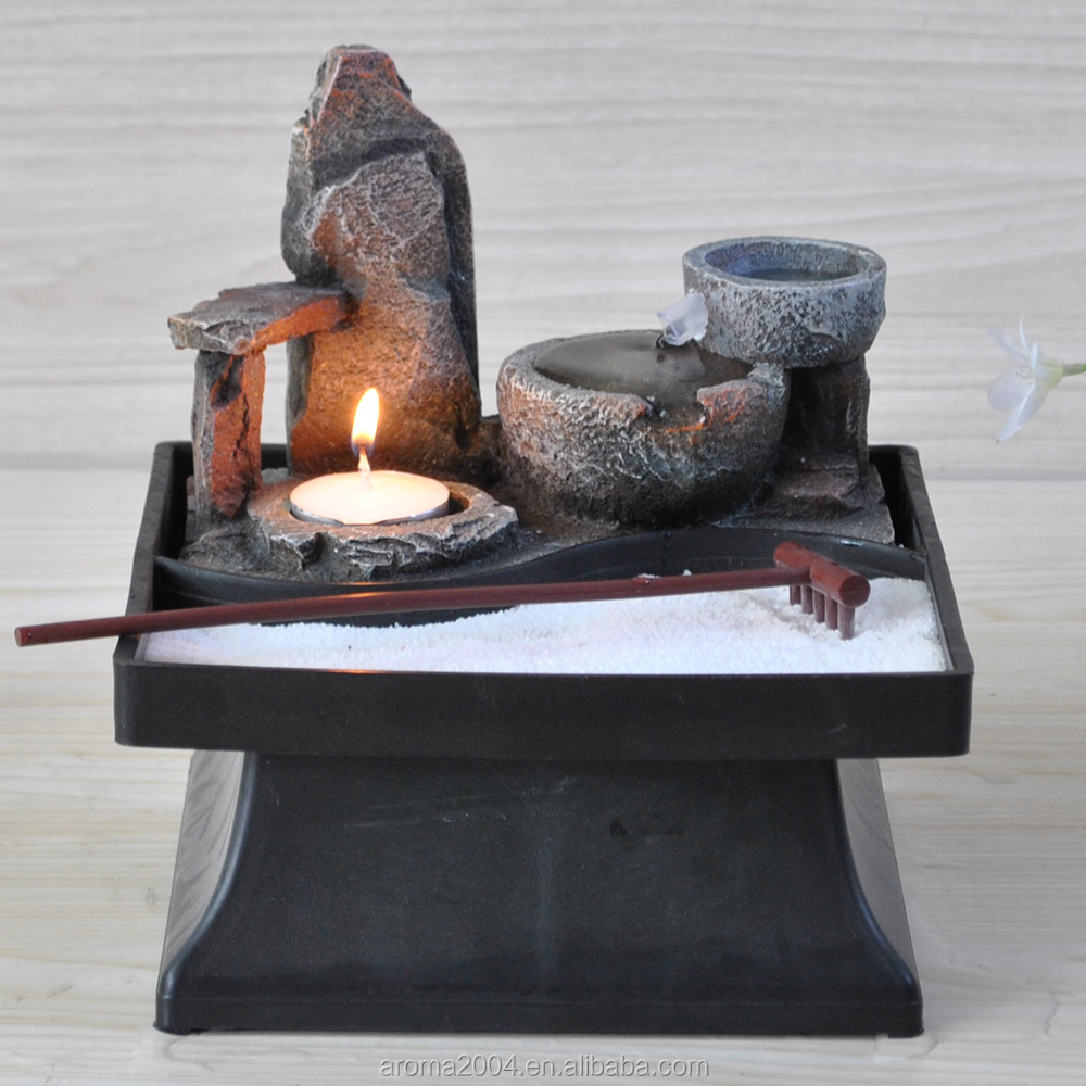 Tabletop Zen Garten Innen Japanischen Brunnen
