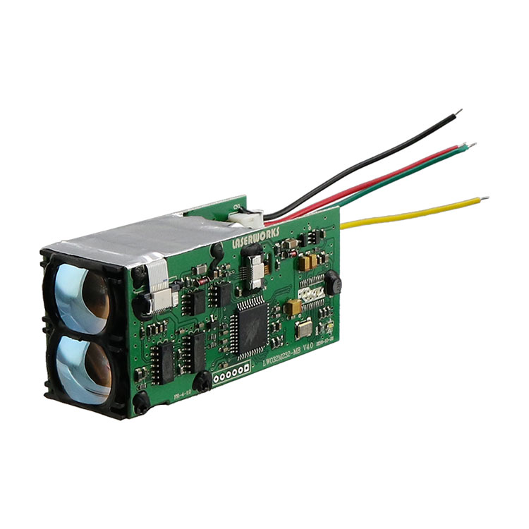 Laser works rangefinder <strong>module</strong> range 600m resolution +/-1m for UAV security military