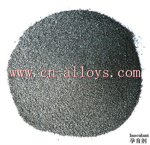 Strontium silicon inoculant SiSr metal for casting