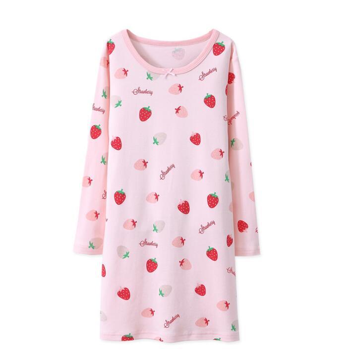 a9d6d838a4 China 100 Cotton Girls Nightgowns