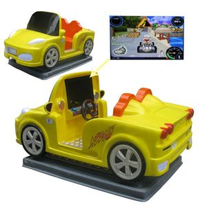Hot sale!GM5741 rides on animal car,arcade racing kiddie rides,electric toys car for kid