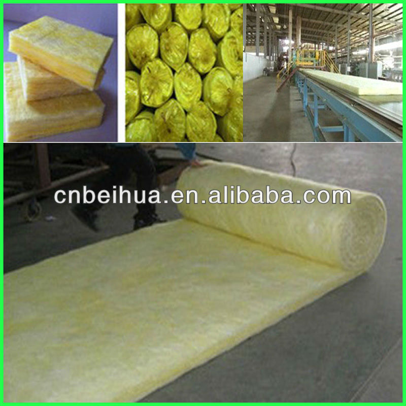 Glass wool cotton thermal insulation material 10-96 kg/m3