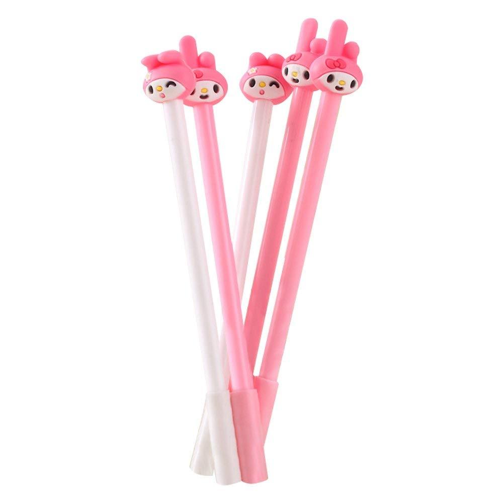 "Baidercor 7"" Cute School Gel Pens for Girls 10 Pcs"